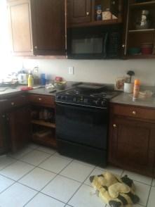 Dirty kitchen!
