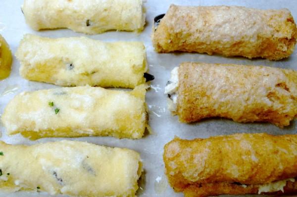 Cheese nib rolls