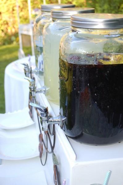 rootbeer and lemonade dispensers