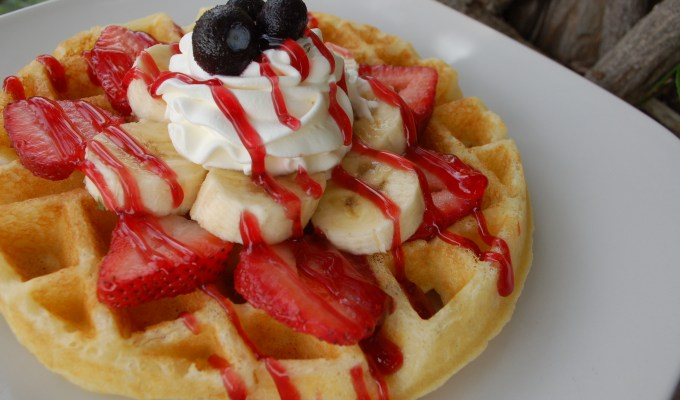 Waffle Bar – A Springtime Bridal Shower Event