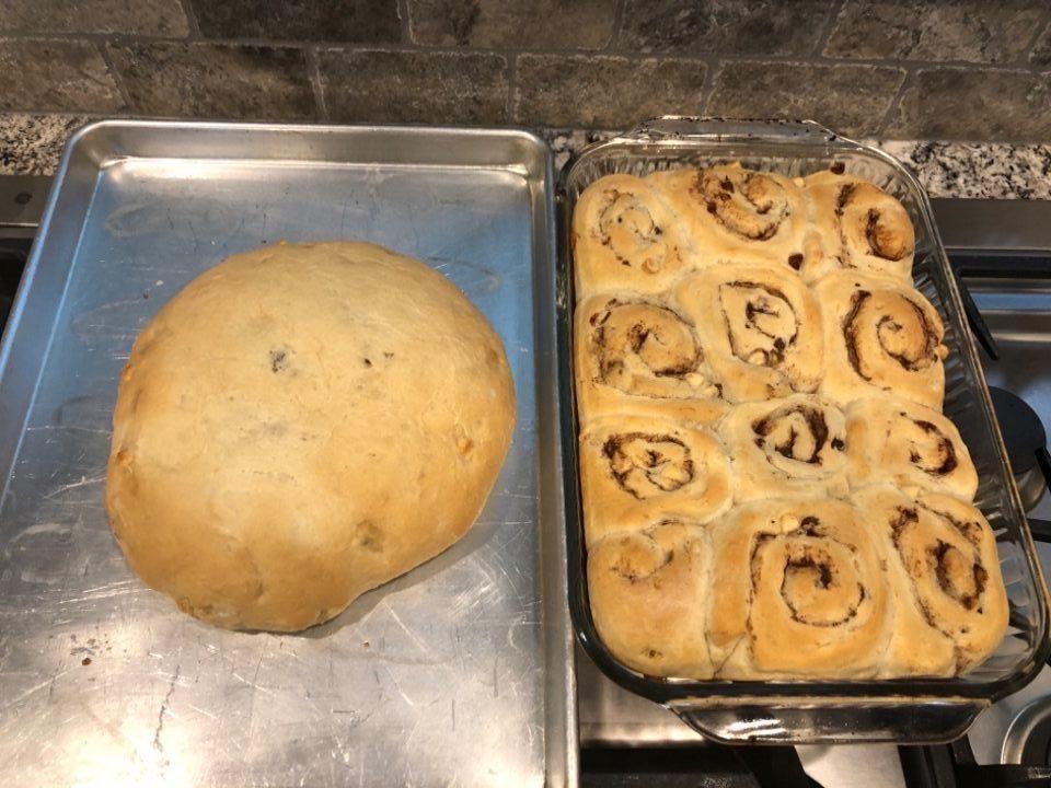 artisan bread cinnamon rolls