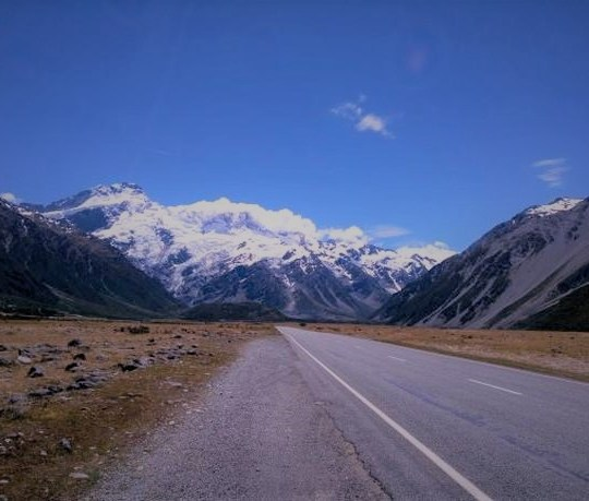 New Zealand mountain landscape