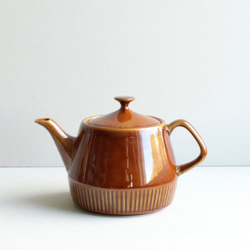 vintage theepot Pruszkow