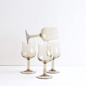 vintage portglas van rookglas