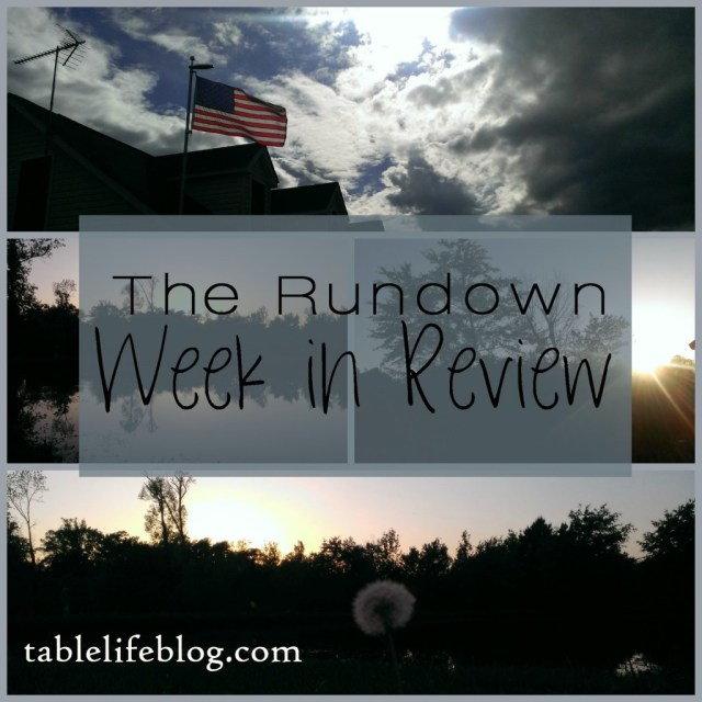 Rundown Week in Review Collage