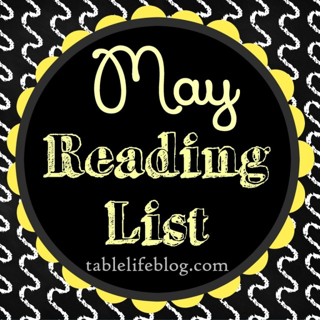 May Reading List - goodreads- book list