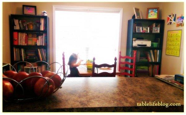 Back to Homeschool: School Room Spotlight