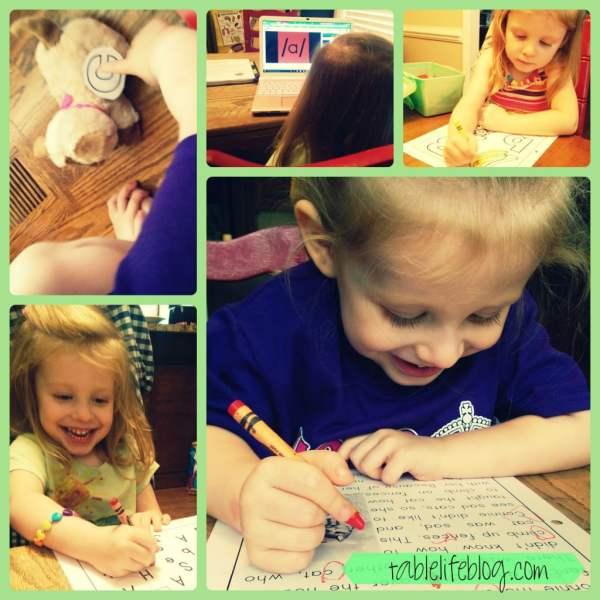The Rundown - Week 1, 2015 - Homeschooling Preschool