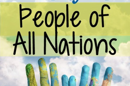 Teaching Kids to Pray for People of All Nations