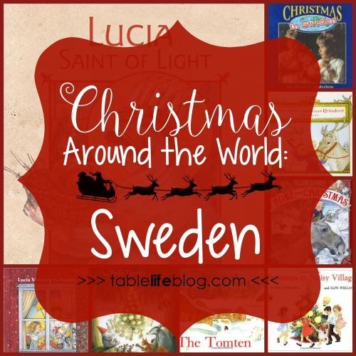 Christmas Around the World in 100 Books - Christmas in Sweden