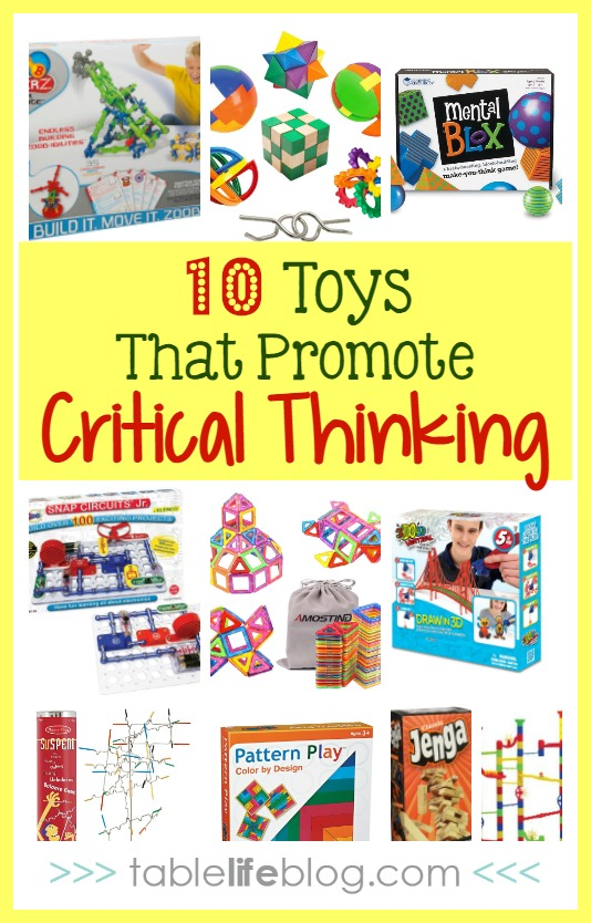 Learning Through Playtime Top 10 Critical Thinking Toys Tablelifeblog