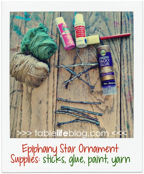 Christmas in Italy Unit Study - Epiphany Star Ornaments