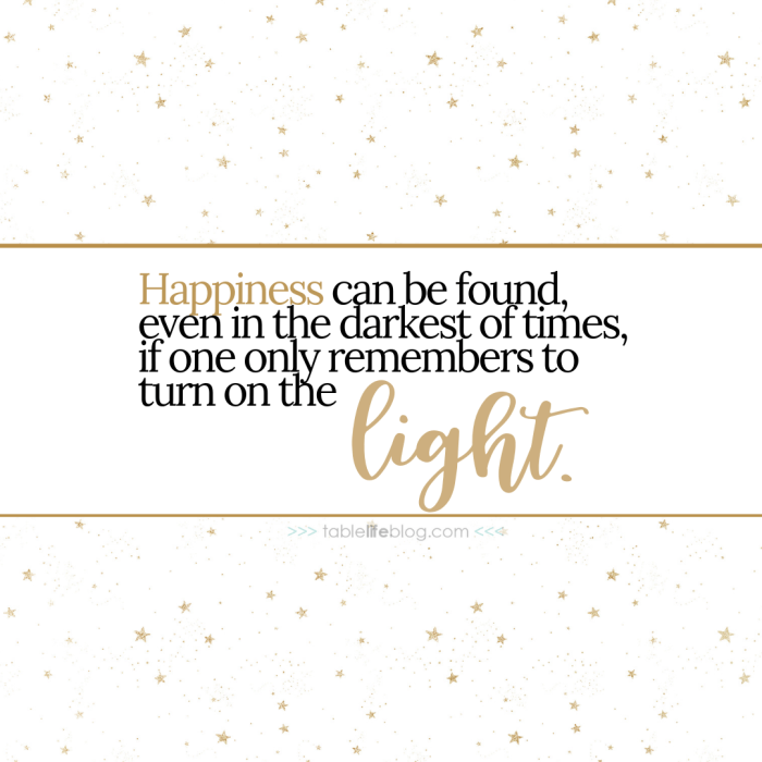 """""""Happiness can be found, even in the darkest of times, if one only remembers to turn on the light."""" - 10 Marvelously Magical Harry Potter Quotes (+ Free Printable Decor & Phone Backgrounds)"""