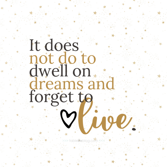 """""""It does not do to dwell on dreams and forget to live..."""" - 10 Marvelously Magical Harry Potter Quotes (+ Free Printable Decor & Phone Backgrounds)"""