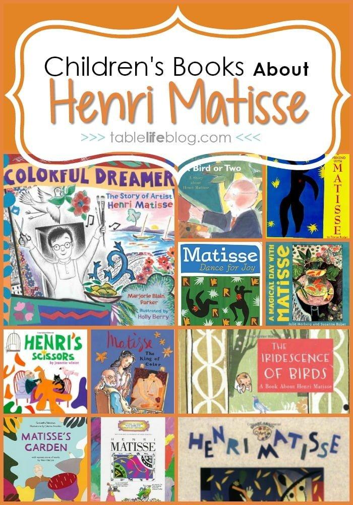 11 Children's Books About Henri Matisse