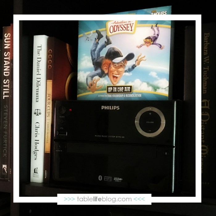 Ditching the Devices & Connecting with Family Audiobooks