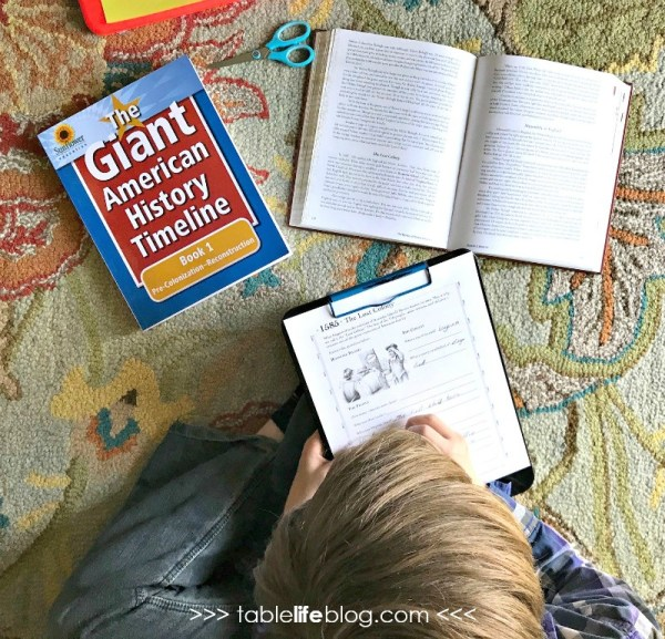 Enhance Your Homeschool Lessons with American History Timeline Worksheets