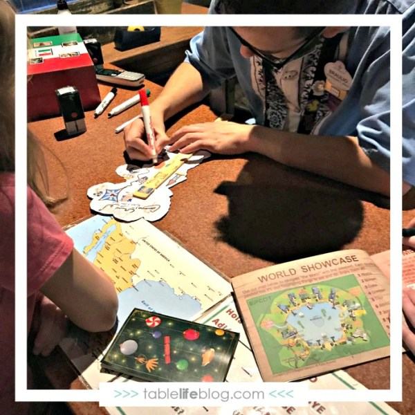 Homeschooling at EPCOT - Passports and Kidcot