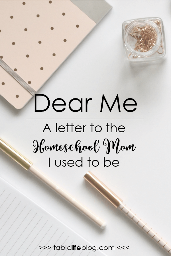 A Letter to the Homeschool Mom I Was Three Years Ago