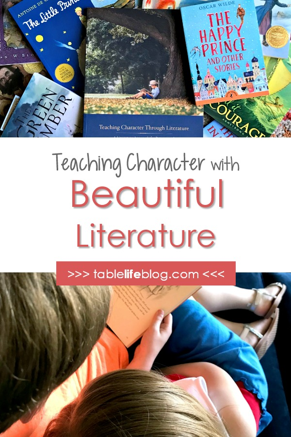 Teaching Character Through Literature with Beautiful Feet Books