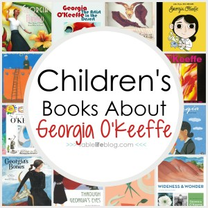 What to Read: Children's Books About Master Artists - Planning to study the life and artistic legacy of Georgia O'Keeffe with your kids? I've got a great list of children's books about O'Keeffe to help you learn.