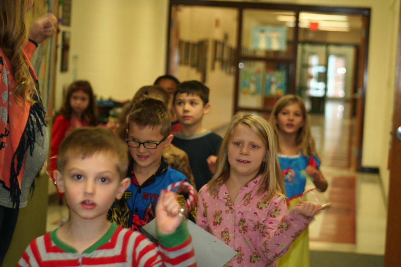 1st Grade Celebrates Polar Express Day