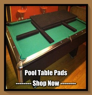 TABLE PADS Custom Made DINING ROOM TABLE Pad Protectors - Pool table pad