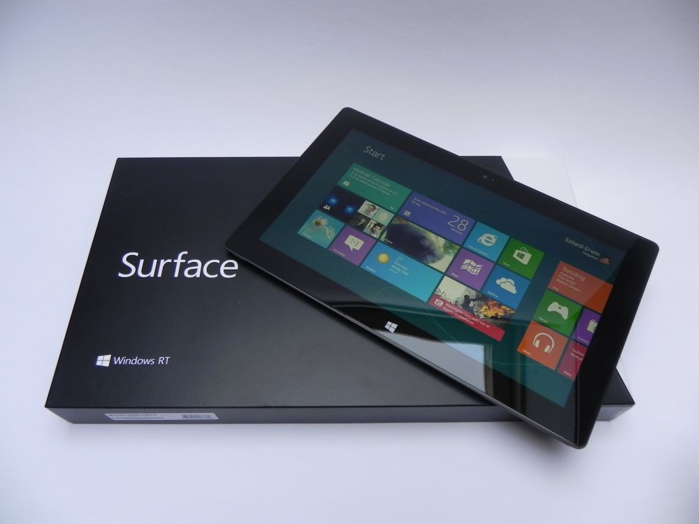 Surface RT unboxing