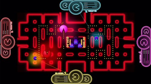Pac-Man Skill Gambling Game