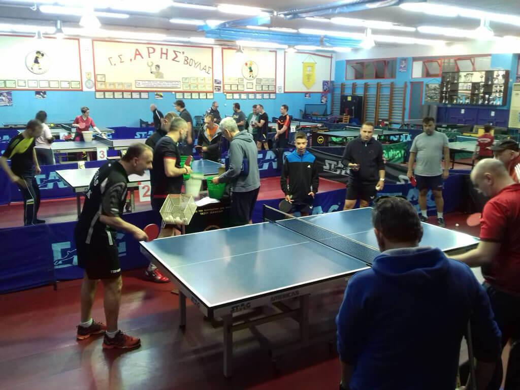 """Πάνω από 30 άτομα παρακολούθησαν πρώτο εκπαιδευτικό σεμινάριο επιτραπέζιας αντισφαίρισης που διοργάνωσε η """"ΑΝΕΜΟΣ ΜΚΕ""""."""