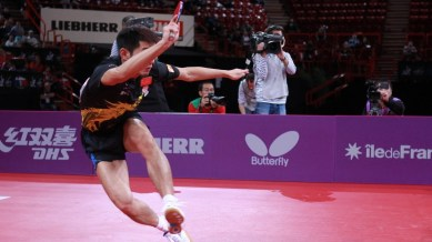 Zhang Jike  away table tennis timing
