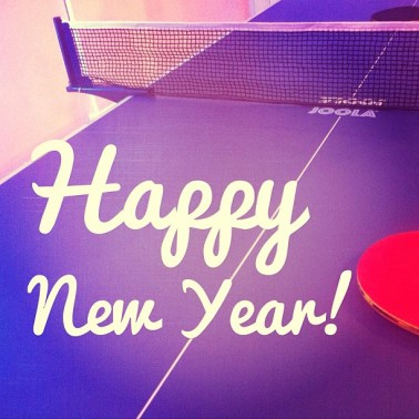 new year 2018 table tennis
