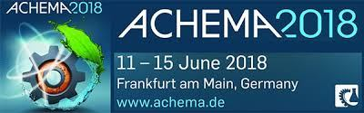 GTS will attend to ACHEMA show from 11/06/18 to 18/06/18 in FRANKFURT am MAIN