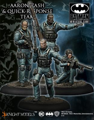 Batman Miniature Game Aaron Cash and Quick Response Team