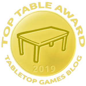 Tabletop Games Blog - Top Table Award Winner 2019