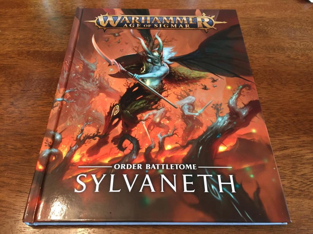 The Sylvaneth Battletome front cover.