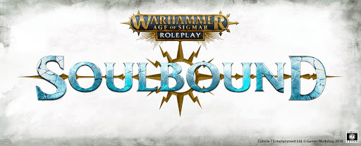 The logo for Age of Sigmar: Soulbound