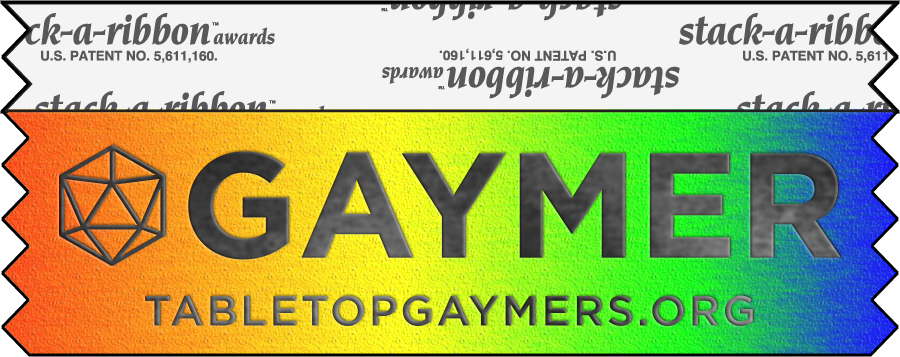 GAYMER ALLY Badge Ribbons