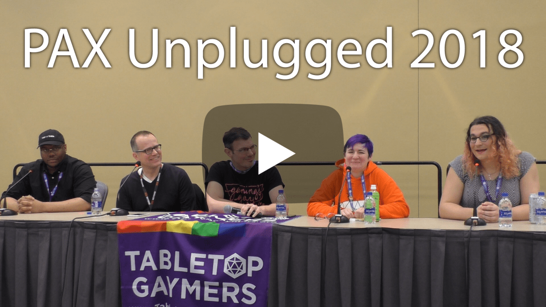 PAX Unplugged 2018 - Queer as a Three-Sided Die Panel