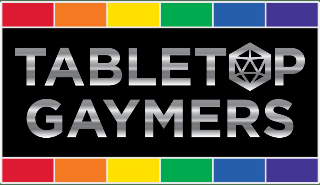 Tabletop Gaymers Fundraiser Logo