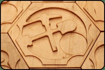 Catan - Ore Tile