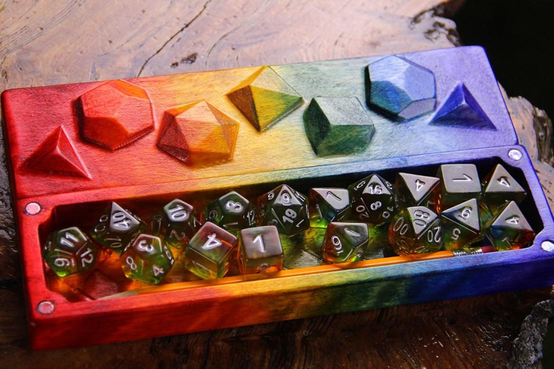Tabletop Gaymers Pride Sheath Bottom