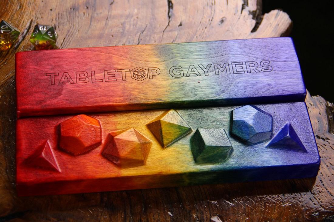 Tabletop Gaymers Pride Sheath Outsides