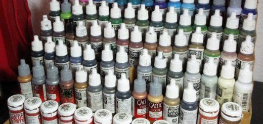 Tabletop Farbständer