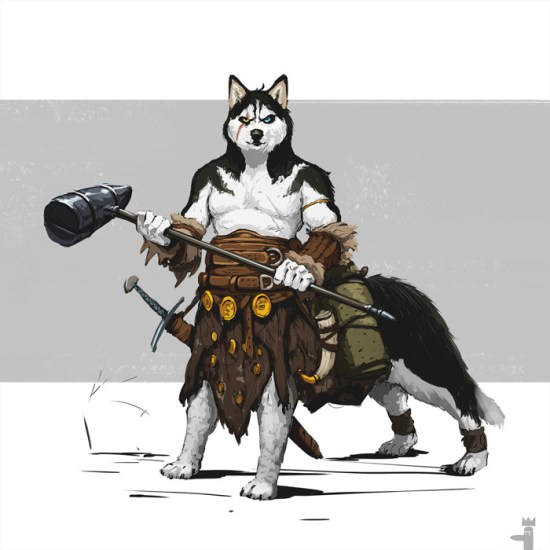 Battle Dogs Fantasy Art