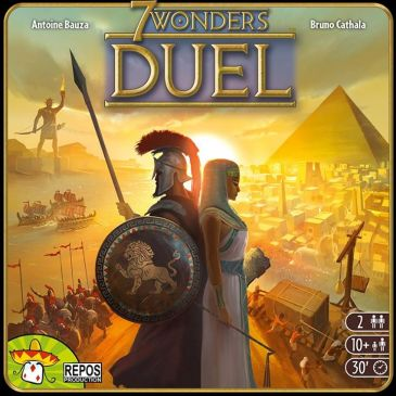 Review: 7 Wonders: Duel