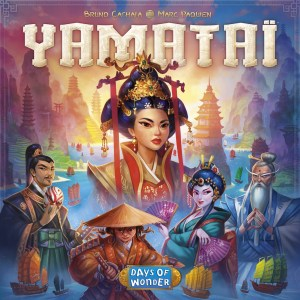 Yamataï - Cover