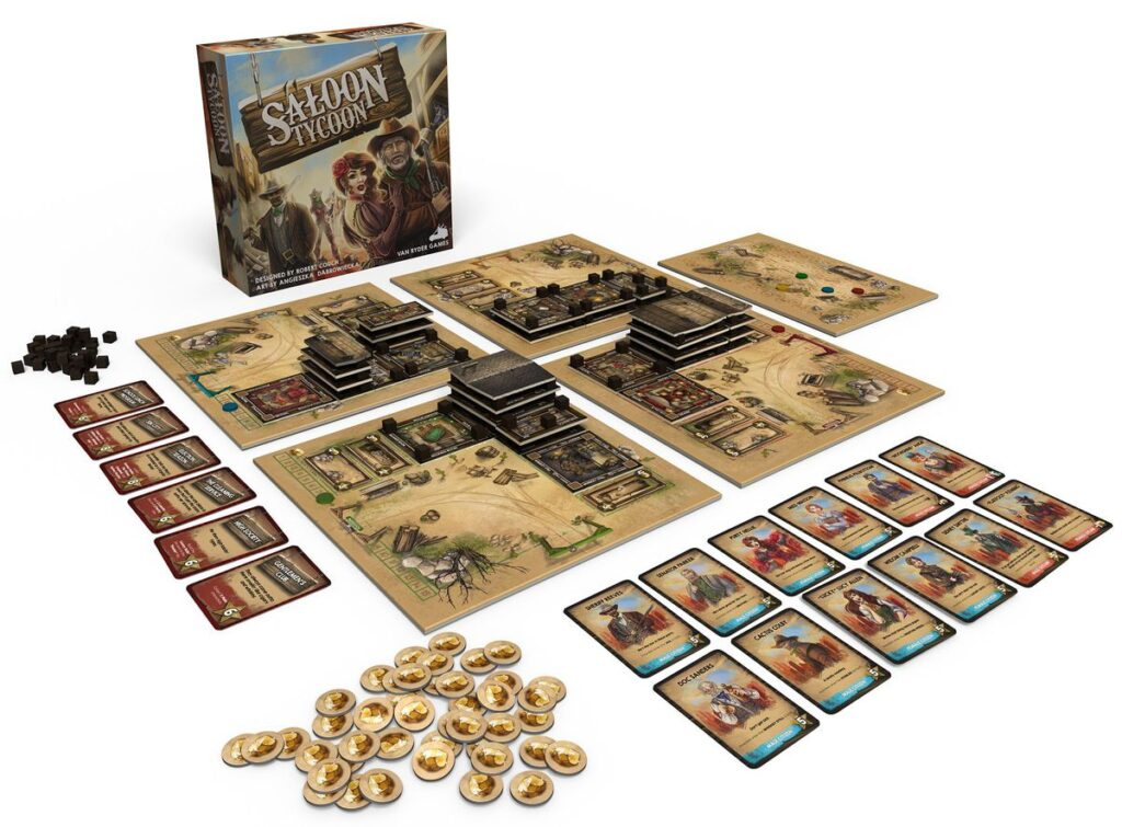 Saloon Tycoon - Components