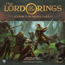 The Lord of the Rings Journeys in Middle-earth - Cover