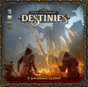 Time of Legends: Destinies - Cover